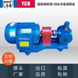 泊头金海YCB小流量不锈钢圆弧泵齿轮泵