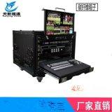 SE-2850集成高清8路便攜移動演播室切換導播臺