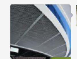 拉网铝天花 拉伸网铝单板厂家 吊顶装饰网板批发商