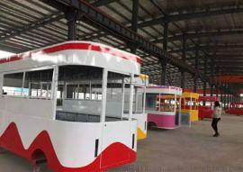 安徽合肥户外景区美食车餐车电动四轮不锈钢厨房设备