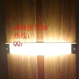 长条方形壁灯酒店卧室门口壁灯吊顶壁灯仿云石壁灯门栏门顶上壁灯影院多媒体大厅壁灯现货供应