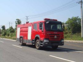 泡沫消防洒水车|国五消防水罐车