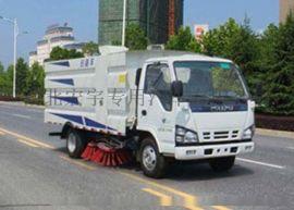 五十铃道路清扫车 港口码头扫路车 环卫扫地车厂家
