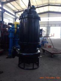搅抽同步潜水沙浆泵,耐磨材质搅拌吸砂泵