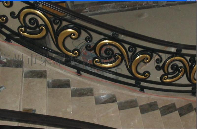 楼梯护栏 楼梯铁栏杆 别墅室内栏杆
