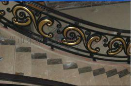 铁艺楼梯护栏 楼梯铁栏杆 别墅室内栏杆