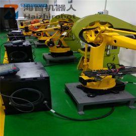 冲压机械手视频 冲压机器人图片 冲床机械手机械臂