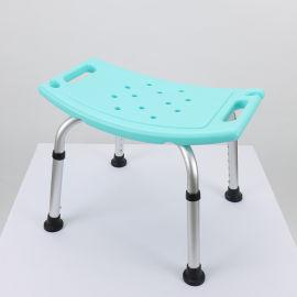 无背洗澡椅绿色老人浴室洗澡凳子防滑洗澡椅子成人孕妇洗浴沐浴