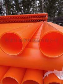 高压穿线聚丙烯纯原料mpp电力管山东厂家生产