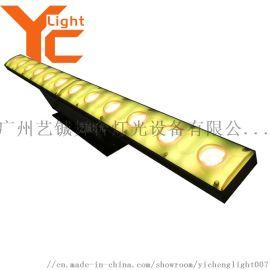 12颗LED带背景色点阵灯舞台酒吧染色灯 厂家直销