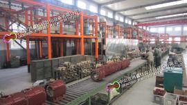 电机生产线,曳引机装配线滚筒线,电梯电机流水线