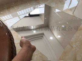 塑料亚克力镜片 亚克力带胶镜片 镜面塑料板材