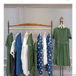 设计师品牌折扣女装空序时尚连衣裙尾货走份