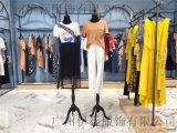 广州慕拉女装品牌折扣店货源19韩版夏装走份