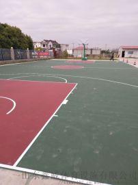 山东德州硅PU篮球场 篮球场施工建设及标准篮球场