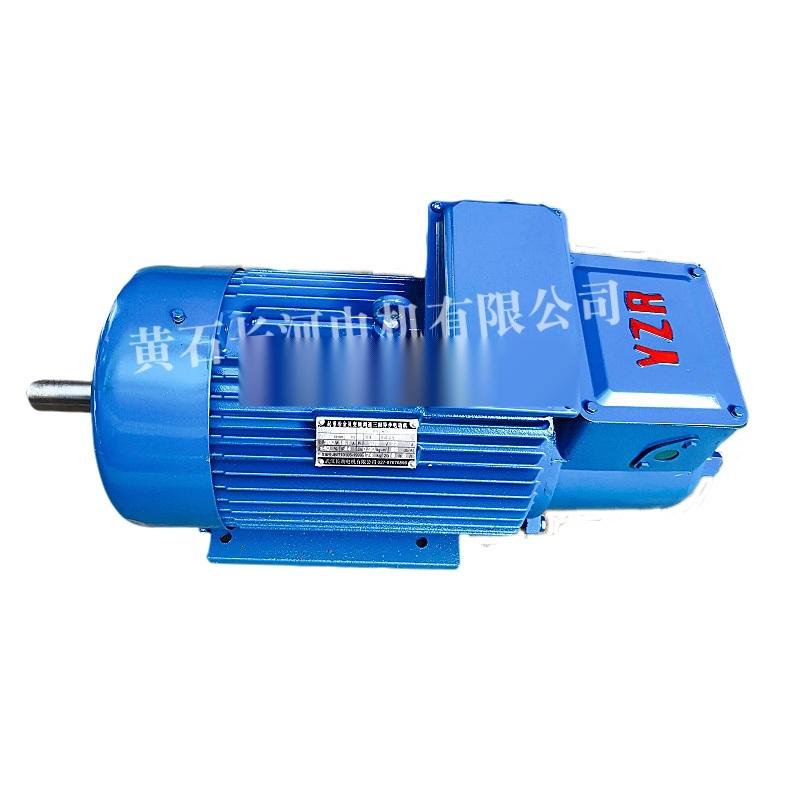 YZ系列异步电机YZ132M2-6/3.7KW双轴