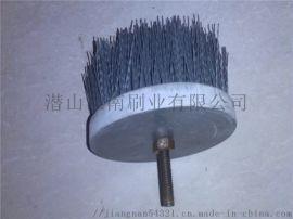 汽车发动机凸轮轴去毛刺抛光磨料刷-江南刷业