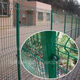 雙邊護欄網,綠色道路隔離鐵網,濟寧工礦鐵絲網