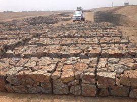 河道治理高尔凡石笼网现货|覆塑石笼网有质量保证
