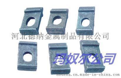 鋼軌扣板生產鋼軌墊板生產