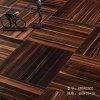 人字拼鱼骨多层实木复合锁扣地暖地板环保黑檀