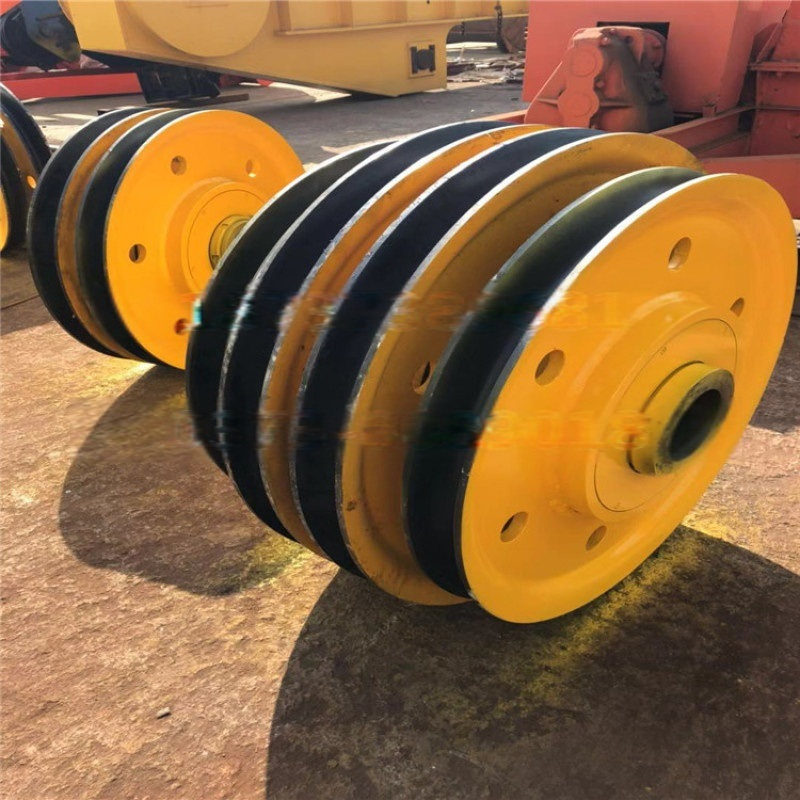 16吨**定向滑轮组国标起重滑车一体铸造工艺滑轮组