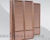 宜昌锌钢百叶窗厂家拼装好发货到工地直接安装
