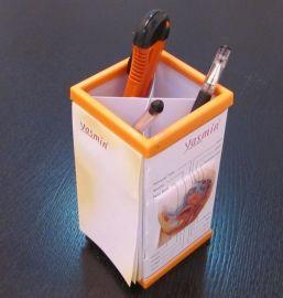 3D立体便签笔筒