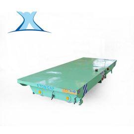 蓄电池轨道电动遥控平车平板推车生产厂家铁轨车