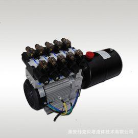 48V1000W无刷电机环卫车液压动力单元