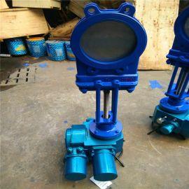 电动浆液阀 GGG40  DN200 无凹槽浆液阀