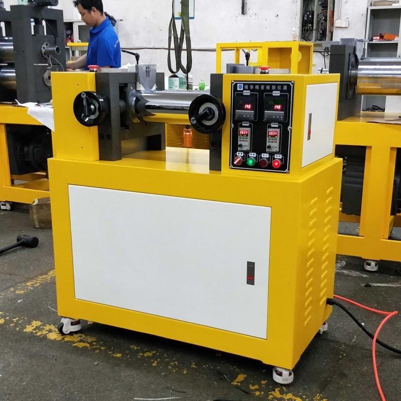 5寸硅胶开炼机,实验室研发二辊炼胶机