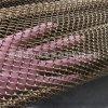 婚纱店装修金属网帘 幕墙网金色装饰网装修金属帘网