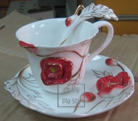 陶瓷咖啡杯,礼品杯