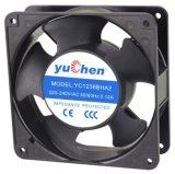 风扇品牌yuchen120*120*38mm含油滚珠轴承散热风扇