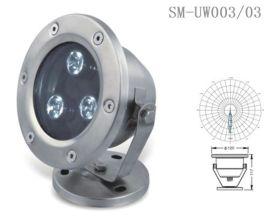 燧明LED3瓦水底灯IP67光色RGB不锈钢