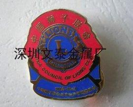 狮子会徽章