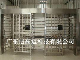 尼高迈全高门NGM-Q01、不锈钢旋转门滚闸、监狱全高十字转闸门