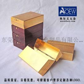 创意侧面弹扣长方形铝包装盒 玛咖包装盒 厂家设计定制