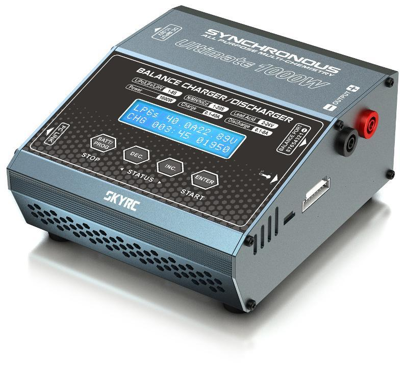 SKYRC 40A 1000W 8S智慧平衡充電器 超越PL8