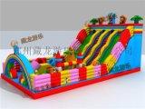大型广场户外充气床,气模娱乐设施玩具,公园儿童游乐场充气城堡