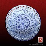 節日創意禮品,中秋陶瓷碗盤食具,家用青花瓷陶瓷食具