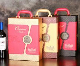 深圳红酒盒生产厂家|酒盒|红酒皮盒定制|酒盒现货供用