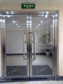 太原定做不锈钢安装有框无框钢化玻璃门