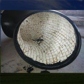 优质陶瓷复合耐磨异径管 河北变径耐磨管件厂家定做 规格齐全