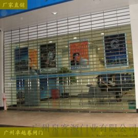 广州不锈钢卷闸门、不锈钢通花卷闸门