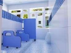河南郑州公共厕所隔断板 卫浴防潮板隔断墙 卫生间隔断成品