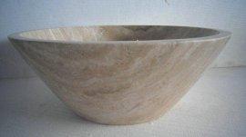 洞石石頭藝術盆 (GLPF070)臺盆、洗手間洗手盆