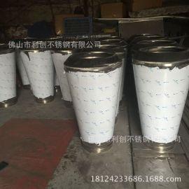 定制黑钛不锈钢花盆圆形花器摆件工艺多肉组合式不锈钢工艺花盆