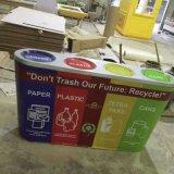 户外创意玻璃钢垃圾桶彩色 环保工艺垃圾桶分类垃圾桶